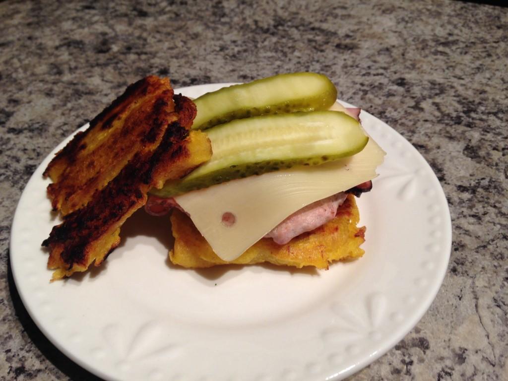 Paleo Cuban Burger